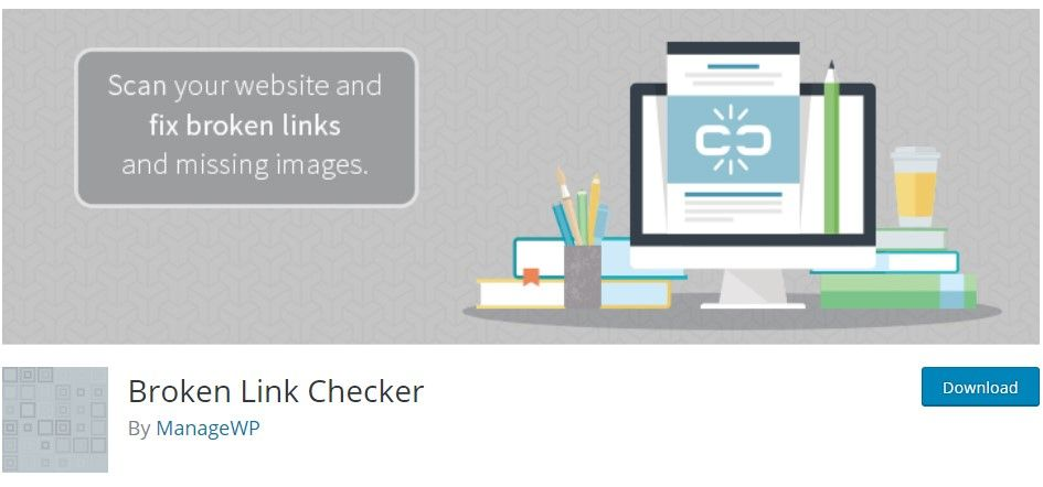 plugin para wordpress broken link checker