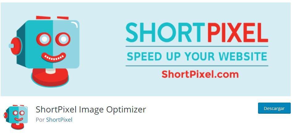 shortpixel para optimizar imágenes en WordPress